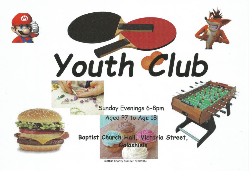 Youth Club Flyer